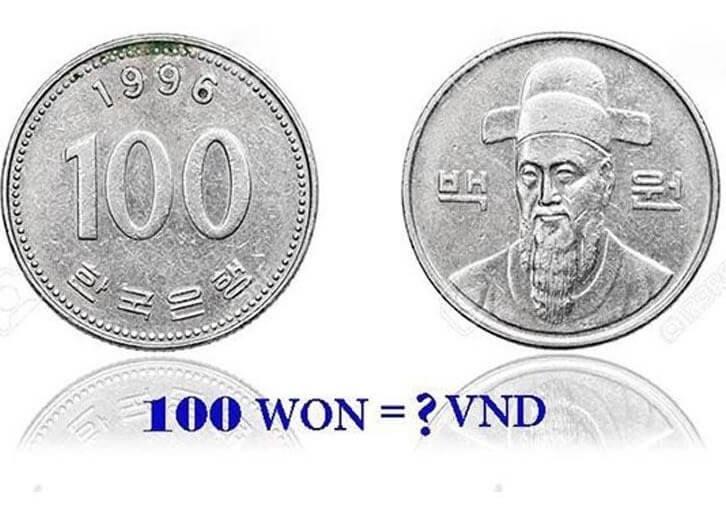 Tỷ giá đồng won hiện nay