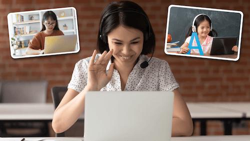 Dạy học online để tăng thêm thu nhập cho gia đình bạn