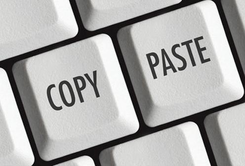 Công việc copy và dán