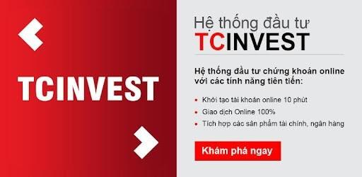 Ứng dụng đầu tư online TCInvest